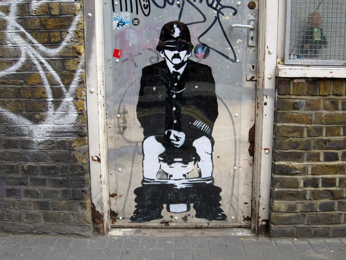 Art In The Garden: Street Art In London 1: 2010 & 2014